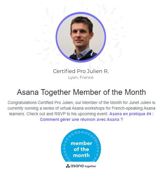 Member Asana webinaire